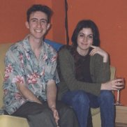 Richie Paradise aged 25 with Valentina Mengarelli